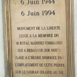 41RM Commando memorial, Lion  sur  Mer