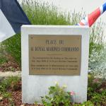 41RM Commando memorial Lion  sur  Mer (2)