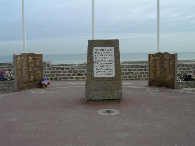 St  Aubin sur Mer Memorial to the Allied Forces