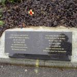Royal Navy & Royal Marines memorial, Ouistreham Ferry Terminal (2)