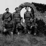 L/Cpl. Ken Emmerson (front right) and others from SS Bde HQ