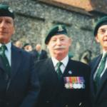 John Southworth MM and 2 unknown at Winchester 1995