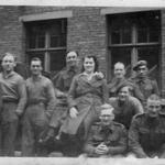Tom Mitchell and a group of Lads & Lasses, 1944/45