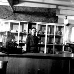 L/Cpl. Ken Emmerson in The Green Beret bar/cafe (2)