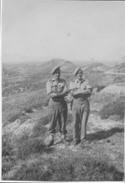 Two from the Raiding Forces on Calino Eago 1945