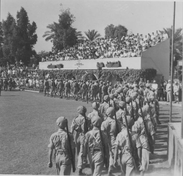 Greek Sacred Squadron Disbandment Parade 1945 (2)