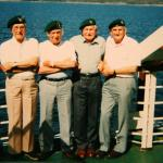 Charles Hustwick, Joe Burnham, Henry Brown OBE, and Bob Shaw