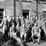 No.1 SS Bde HQ Group (Ken Emmerson back row 3rd from right)