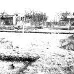 The original grave of Gunner William Albert Stubbles Maine