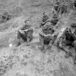 Brig. Derek Mills Roberts an others l'écarde quarry 16th July 1944