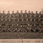 47RM Commando X troop  in Holland, April 1945