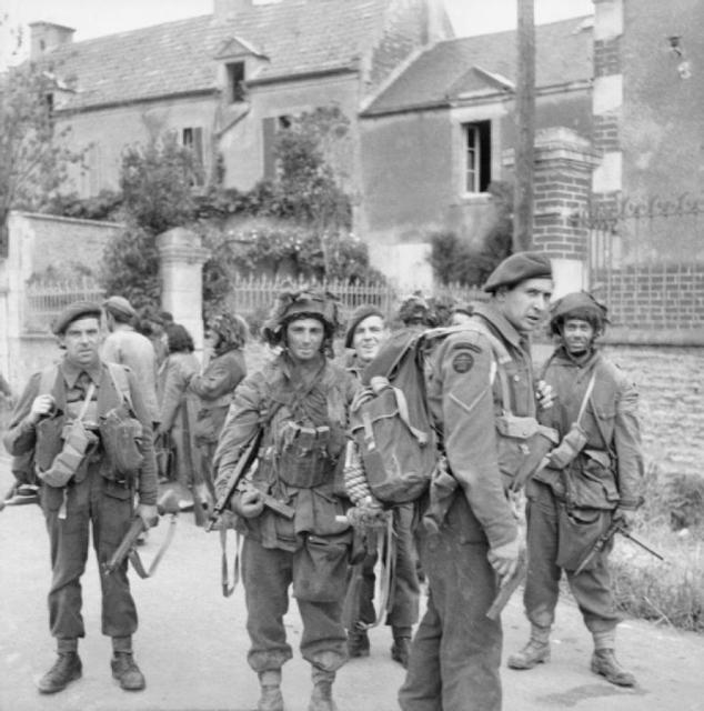 Commandos of 1st Special Service Brigade, 6 June 1944
