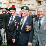 Frank Johnson (3 Cdo),  Pat 'Hammer'Hagan (45RM Cdo), and  Pete Dovey BEM (1Cdo)