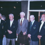 Jimmy Storie, George Dove, Sir Tommy MacPherson MC, Len Mitchell, Reg Harmer DCM