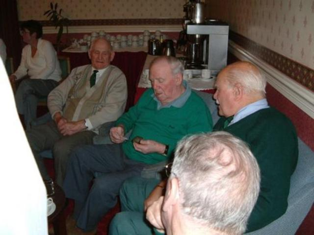 Jim Crowe MM,  Arthur 'happy' Jackson and Reg Teager No 1 Cdo at FW 2002