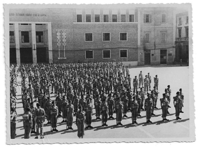 No.2 Commando parade at Ravenna 1945