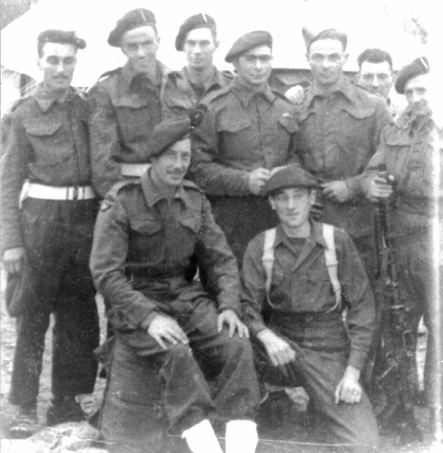 Some of 3 troop No.2 Cdo at Monopoli, Italy July '44