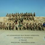 Iraqi Marines with Royal Marines from 45 Commando 2006