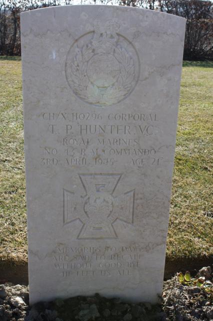 Corporal Thomas Peck Hunter VC