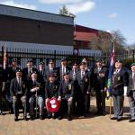 Royal Marines Association service for Corporal Thomas Hunter VC  43 RM Commando