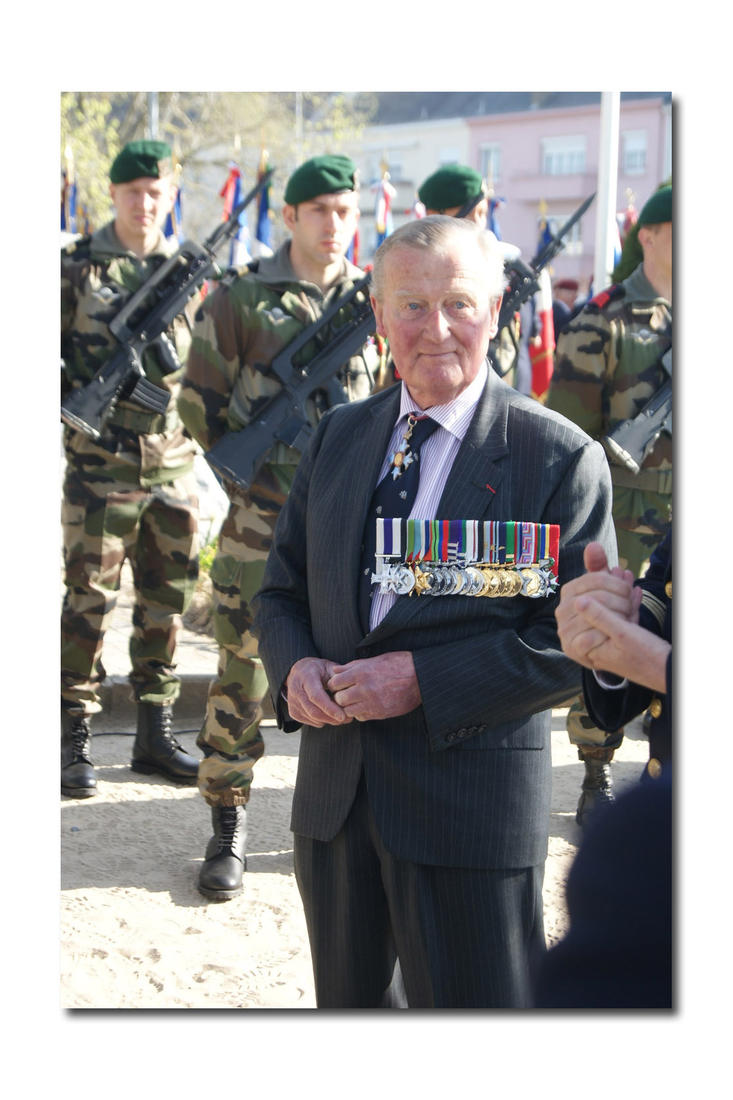 Major General Corran Purdon CBE MC CPM [12 Commando]