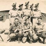 Dougie Martin and others Amriyah Camp, Egypt  Aug 1941