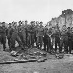 No. 3 Commando officers at Limehouse 1944