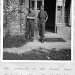 Sgt. Fisher and Cpl. Whalebelly, 1 Bde Signals, at St Maclou