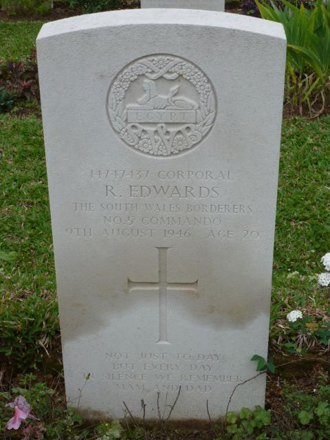 Corporal Ronald Edwards