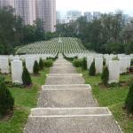 Sai Wan War Cemetery, Hong Kong,  2012