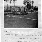 The unveiling ceremony of the No.1 SS Bde Memorial at le Plein ceremony