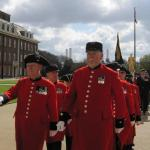 St George's Day Parade, Royal Hospital Chelsea, 15th April 2012.