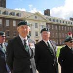 Mike Johnson, Brigadier Thomas CBE, Gerry Keelor, George Parsons, John Morris