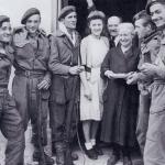 Pte's Poli, Guyard, Zivohlava, Floch, Gabriel, and Sgt. Lanternier