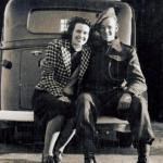 Nancy Hyslop and Ted Brown (No 11 Cdo), Lamlash 1940