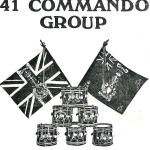 41 Commando Group Trooping The Colour programme 16th March 1977