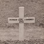 Original Grave of Lance Corporal James Gardner