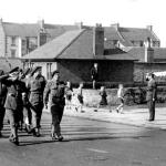 Lord Lovat and No.4 Commando at Troon