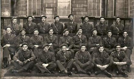 No.2 Commando Officers circa Jan'43.
