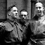 Unknown TSM, 'Ken' Emmerson, and Arthur Wardle MC