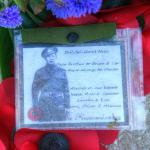 Operation Frankton Memorial  wreath for Marine William Henry Mills
