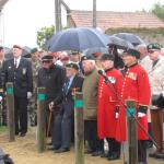Veterans at Amfreville 4th June 2012 (2)