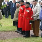 Veterans at Amfreville  4th June 2012 (1)