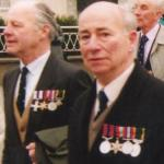 Lt. Bill 'Tiger'  Watson MC and Sgt Don Randall DCM