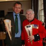 Geoff Murray and Dougie Mann - Commando Reunion 2008