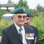 CVA President, Brigadier J F Thomas CBE, No6 Cdo.