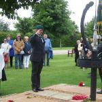 Geoff Murray during The Wreath Laying Ceremony