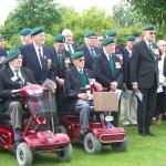 The Veterans during The Wreath Laying Ceremony