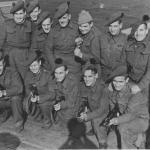 Roy Foster and others from No.9 Commando