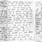 A letter to the mother of Cpl. Roy Montague Smith after his death written by Capt. Preston
